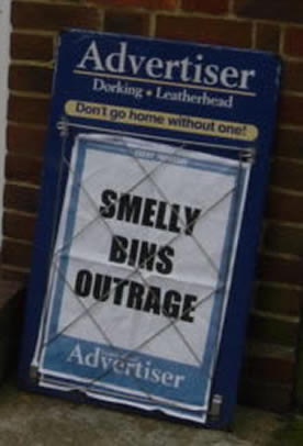smelly bins